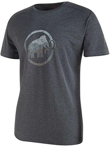隣接する無し引っ張る[マムート] Trovat T-Shirt Men トロバット Tシャツ メンズ 0033/blackmelange 1041-09860 M