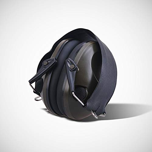Noise Cancelling Earphones, Head-Mounted Adult Sponge Noise-reducing Earmuffs Portable Ear Protectors (Color : Black) by Noise canceling headphones (Image #4)