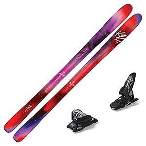 K2 2018 Alluvit 88 Women's Skis w/Marker Griffon ID Bindings