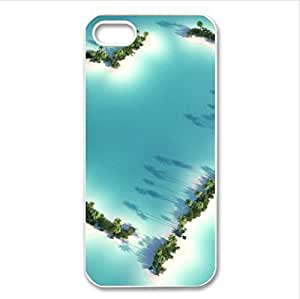amazing sea islands design Case for iPhone 5C PC case lifeproofase iphone iphone case for men
