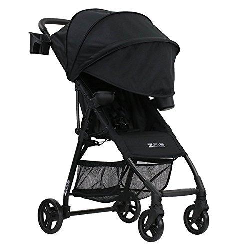 ZOE XL1 BEST v2 Lightweight Travel & Everyday Umbrella Stroller System (Black)
