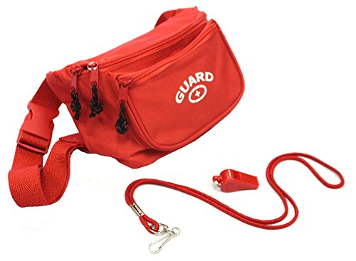 Adoretex Guard Fanny Pack Whistle with Lanyard Equipment Set ()