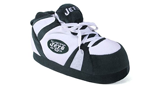 Happy Feet Mens and Womens New York Jets - Slippers - 2XL (Happy Feet Jets compare prices)