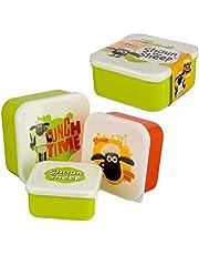 Shaun The Sheep lunchboxenset, 3 stuks