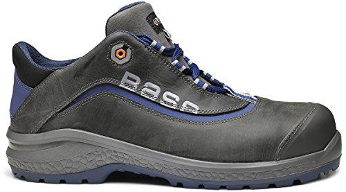 Base BE-JOY - Calzado de protección de Piel para hombre Azul azul Azul - azul