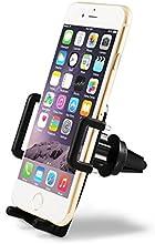 Soporte Universal TaoTronics® Para Rejillas De Ventilación De Coche Para Teléfonos Móviles, Negro TT-SH06