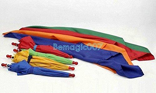 Silk to four umbrellas - Parasol Production Magic