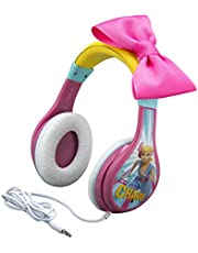 Kids Headphones for Kids Toy Story 4 Bo Peep Adjustable Stereo Tangle-Free 3.5Mm Jack Wired Cord Over Ear Parental Volume Control School Home Travel