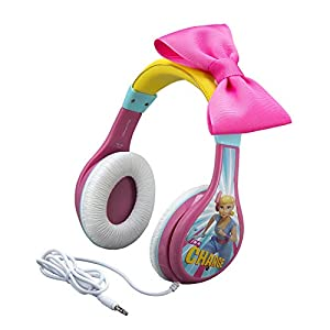 eKids TS-140BP Headphones for Kids Toy Story 4 Bo Peep Adjustable Stereo Tangle-Free 3.5Mm Jack Wired Cord Over Ear…