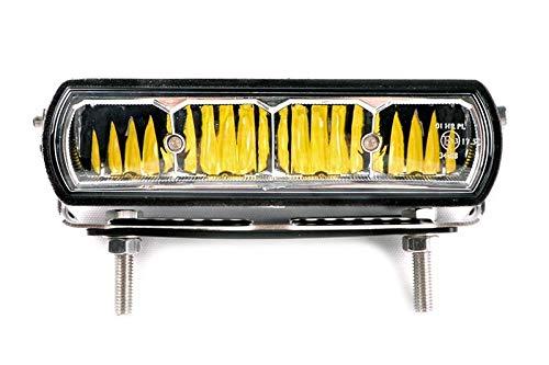 luz Adicional IP68 Lightpartz Faro LED con homologaci/ón ECE 20 W