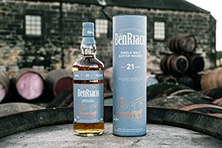 BenRiach 21 Years Old Four-Cask Maturation Single Malt Scotch Whisky - 700 ml