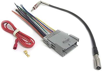 [SCHEMATICS_4HG]  Amazon.com: Car Stereo Wiring Combo Harness+Antenna Adapter 2002-2013  Select GM Vehicles +: Car Electronics   2013 Gm Radio Wiring Harness Adapter      Amazon.com