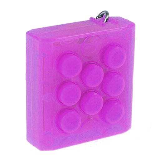 HAND SPINNER Infinite Electronic Bubble Wrap Popper with Magic Sound Stress Relief Squeeze Toy (Purple)