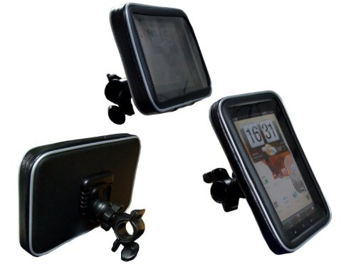 Navitech Cycle / Bike / Bicycle Waterproof holder mount and case Compatible With The Samsung Galaxy Tab P1000 & P1010 (Samsung Galaxy Tablet P1010 Case)