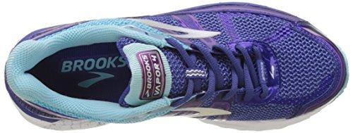 Flower Blue Clematis Zapatillas Vapor Brooks Cactus Indigo para Mujer de Purple Azul 4 Gimnasia Violet x6w8CwEzq