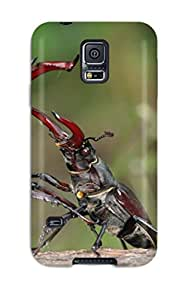 Frank J. Underwood's Shop 6302434K38699248 For Stag Beetles Fighting Over A Female Protective Case Cover Skin/galaxy S5 Case Cover