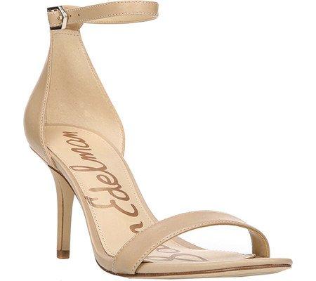 Classic Nude Nappa Leather Sam Edelman Women's Patti Fashion Sandals