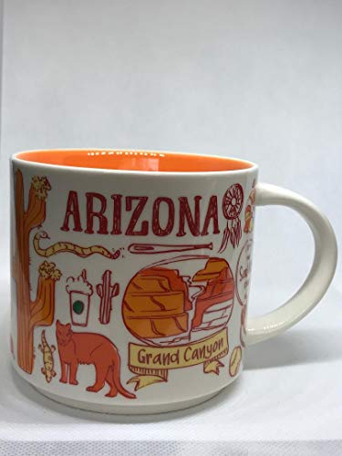 Starbucks ARIZONA Been There Collection Ceramic Coffee Mug - Arizona Mug