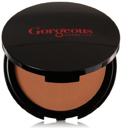 Gorgeous Cosmetics Endless Summer Bronzing Powder, Matte Finish for Face and Body, Compact with Mirror, Highly Pigmented and Buildable, Shade ES-02 (Es Finish)