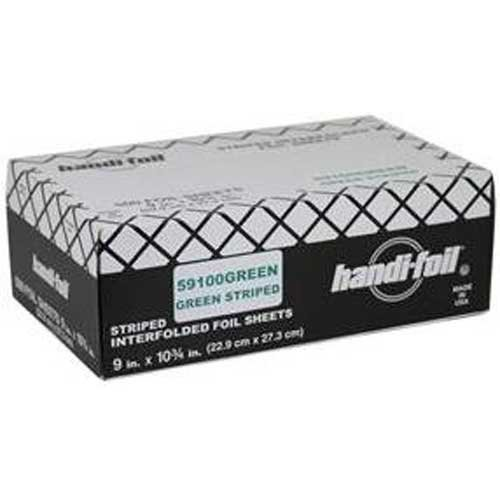 Handi Foil Green Foil Sheets -- 3000 per case. by Handi-Foil