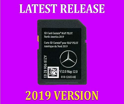 SDカード Garmin Map Pilot V12 2019 メルセデスベンツ ナビゲーション パーツ A2189068203