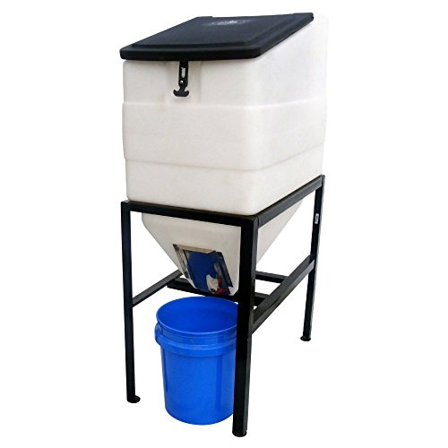 High Country Plastics BIN-270 Feed Bin with Stand, 270 gallon by High Country Plastics