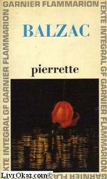 Pierrette par Balzac