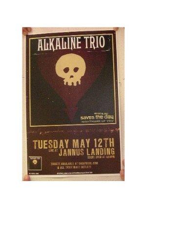 The Alkaline Trio Poster handbill