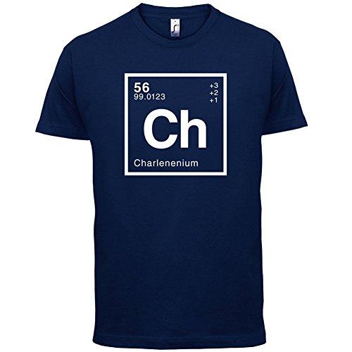 Dressdown Men's Charlene - Periodic Element T-Shirt XS Navy ()