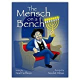 """The Mensch on a Bench """"As Seen on Shark Tank"""" a Hanukkah Tradition Signed Hardcover Book"""