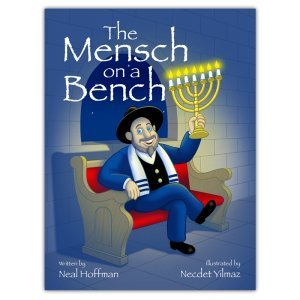 (Mensch on a Bench The As Seen on Shark Tank a Hanukkah Tradition Signed Hardcover)
