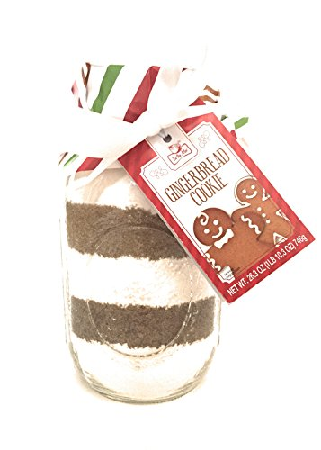Gingerbread Cookie Christmas Gift Mason Jar - In the Mix - 26.3 (Gingerbread Gift)