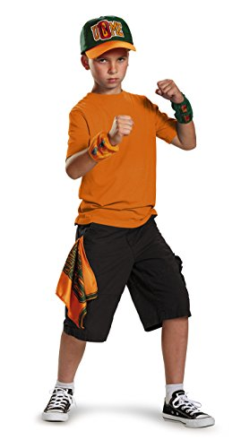 John Cena Kit Child WWE Costume, One Size Child, One Color (Wwe Tlc John Cena Vs Wade Barrett)