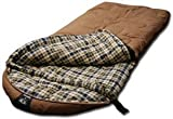 Grizzly +25 Degree Canvas Sleeping Bag (Tan), Outdoor Stuffs