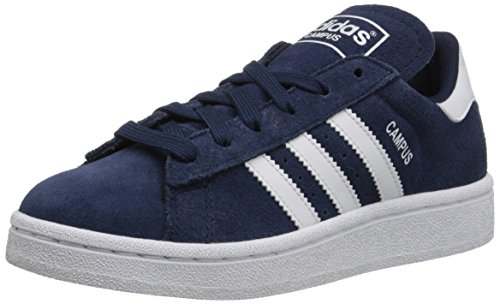 adidas Originals Campus J Shoe (Big Kid), Collegiate Navy/White/Collegiate Navy, 4.5 M US Big Kid