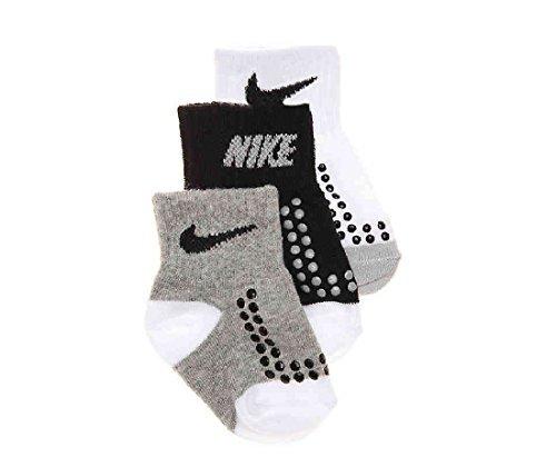 Nike Baby Boy's Socks 3 Pair Pack (6-12 Months) (Nike Infant Socks)