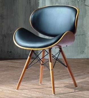 chaise de bureau pieds bois