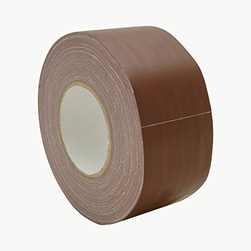 J.V. Converting J90/BRN360 JVCC J90 Polyethylene Coated Cloth Low Gloss Gaffer-Style Duct Tape, 36 lb. per inch Tensile Strength, 60 yd. Length x 3