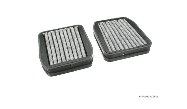 Premium Replacement Fits Mercedes-Benz E350 E55 AMG E63 AMG ECOGARD XC10508C Cabin Air Filter with Activated Carbon Odor Eliminator E320 E500