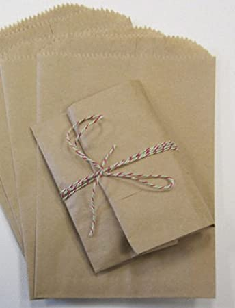 dffca57725d Image Unavailable. Image not available for. Color  Mycraftsupplies 200 Brown  Kraft Paper Bags