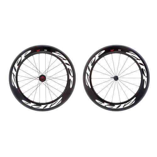 Wheel Zipp 808 Front (Zipp 808 Firecrest Carbon Clincher Front 18 Spokes White Decal)