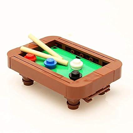 Amazon Com Lego Custom Designed Pool Table Toys Games