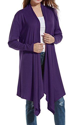 Fleece Long Sleeve Cardigan - 5