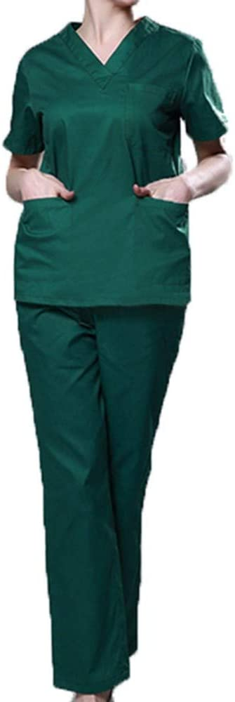 QZHE Abbigliamento medico Uniforme Medica Uniforme dellAbito Chirurgico DellOspedale DellInfermiera DellInfermiera I Camici del Salone di Bellezza dellAbbigliamento del Medico