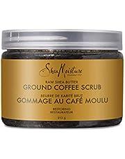 Sheamoisture Ground Coffee Scrub for dull skin Raw Shea Butter with caffeine 213 g