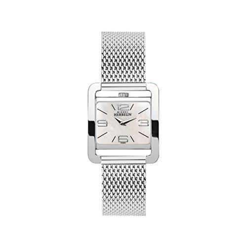 Women's Watch Michel Herbelin - 17137/19B - 5EME AVENUE - Quartz - Mother of Pearl Dial - Milanese Strap