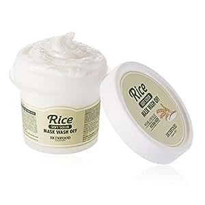 Amazon.com : Skinfood Facial Mask Rice Wash Off - 3.52 Oz