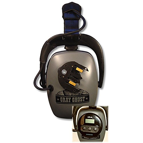 Price comparison product image DetectorPro Gray Ghost XP Headphones for XP Deus Metal Detector