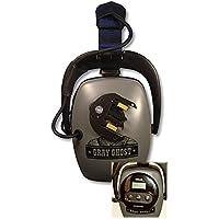 DetectorPro Gray Ghost XP Headphones for XP Deus Metal Detector