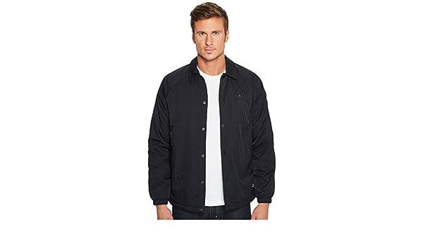 1b468a62b Converse Primaloft Collection Coaches Jacket, Black, Men's Medium at ...